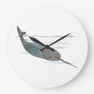Narwhal Large Clock