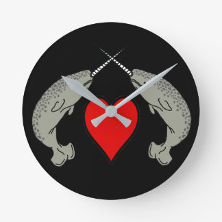 Narwhal Love Clock
