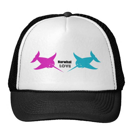 Narwhal Love Hats