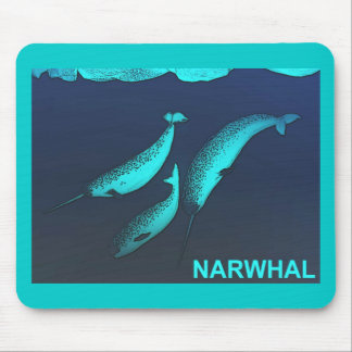 Narwhal Mouse Pad