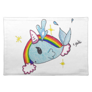 narwhal placemat