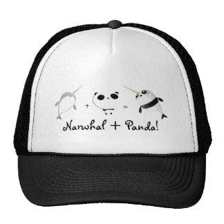 Narwhal plus Panda Mesh Hats