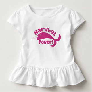 Narwhal Power Toddler T-shirt