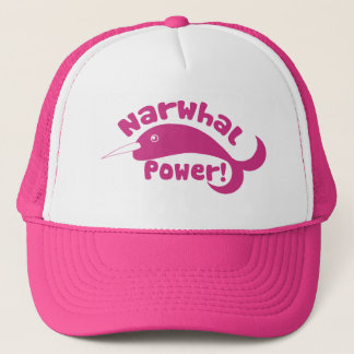 Narwhal Power Trucker Hat