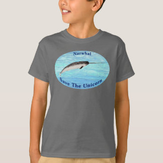 Narwhal - Save The Unicorn T-Shirt