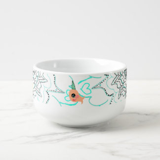 Narwhal Soup Cereal Bowl