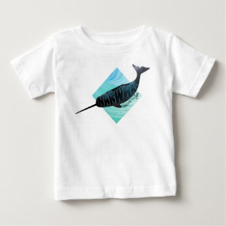 Narwhal, Unicorn of the Sea Baby T-Shirt