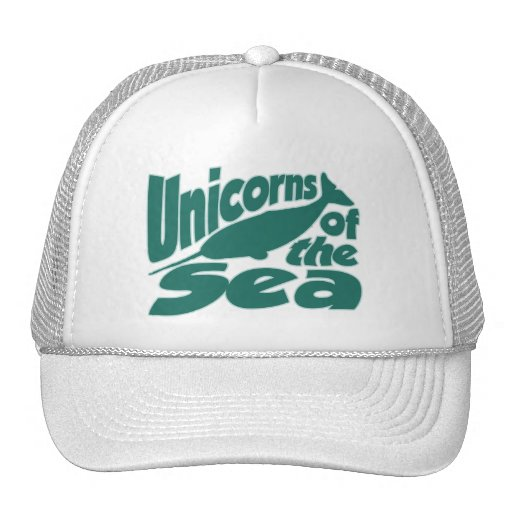 Narwhal Unicorn of the Sea Trucker Hat