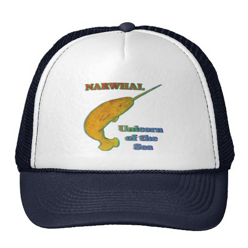 Narwhal - Unicorn of the Sea Mesh Hat