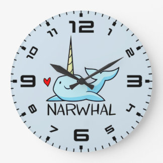 Narwhal Wallclocks
