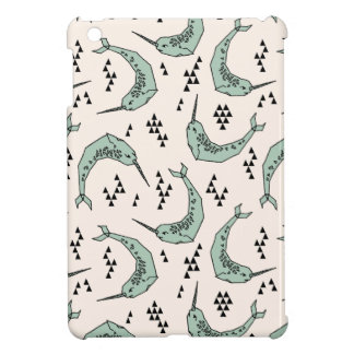 Narwhal - Whale Champagne Blue / Andrea Lauren Case For The iPad Mini