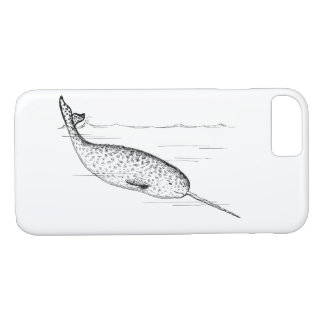 Narwhal Whale Unicorn of the Sea Case-Mate iPhone Case