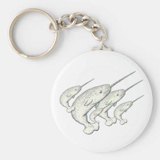 narwhals keychain