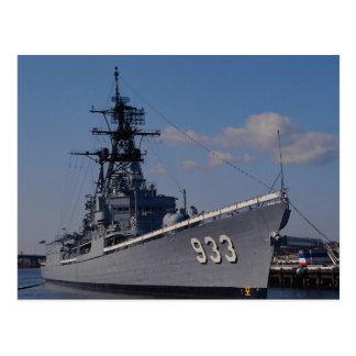 "NAS ""Anacostia"", ""USS Barry"", memorial ship, Washi Postcard"