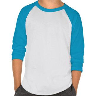 NAS blue raglan tshirt with quails in a row