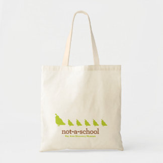 NAS Budget Tote with Quail row Budget Tote Bag