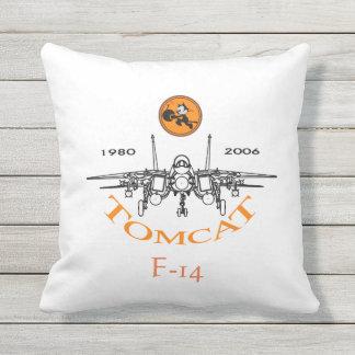 NAS Oceana - F-14 Tomcat Outdoor Pillow