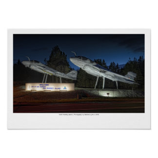 NAS Whidbey Island Gateway Poster