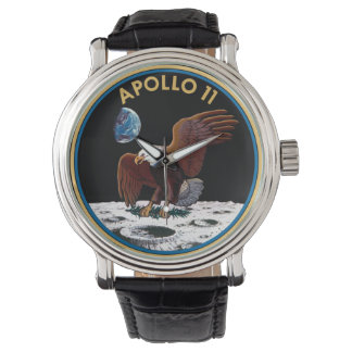 NASA Apollo 11 Logo Round Watch