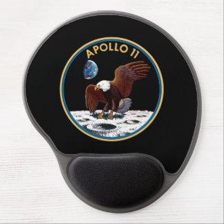 NASA Apollo 11 Moon Landing Lunar Patch Insignia Gel Mouse Pad