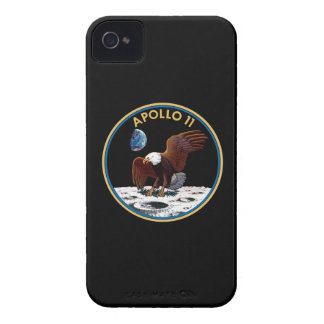 NASA Apollo 11 Moon Landing Lunar Patch Insignia iPhone 4 Covers