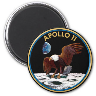 NASA Apollo 11 Moon Landing Lunar Patch Insignia Magnet