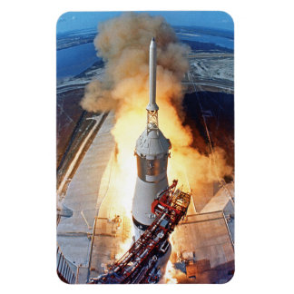 NASA Apollo 11 Moon Landing Rocket Launch Magnet