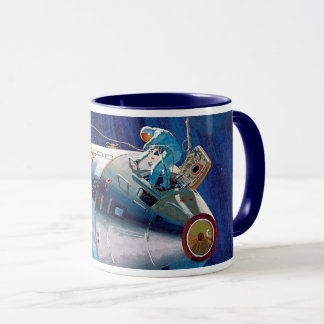 NASA Apollo 15 Command Service Module Artwork Mug