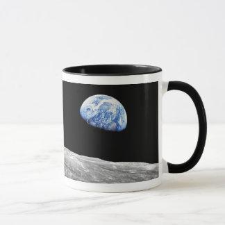 NASA Apollo 8 Earthrise Moon Lunar Orbit Photo Mug