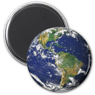 Nasa blue marble earth magnet
