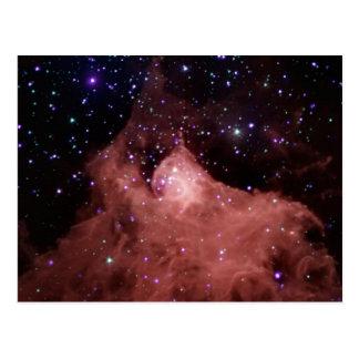 NASA Cepheus_b infrared dark cloud Postcard