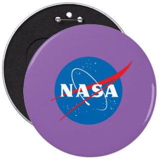 NASA Colossal, 6 Inch Round Button