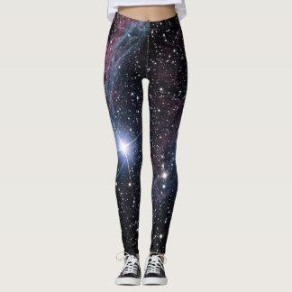 NASA ESA Veil nebula Leggings
