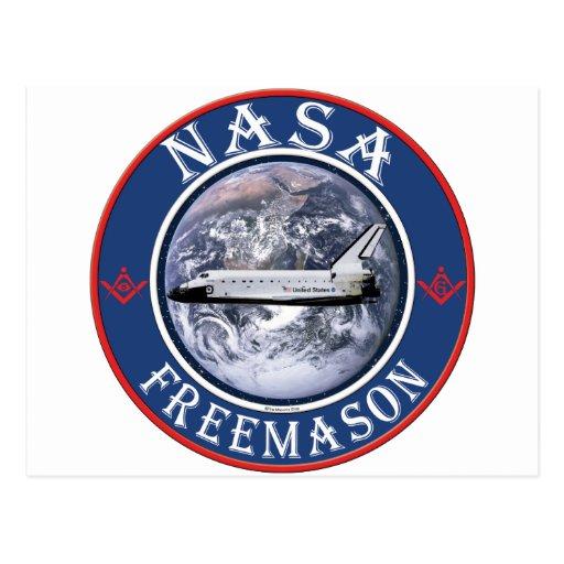NASA Freemason Postcard | Zazzle