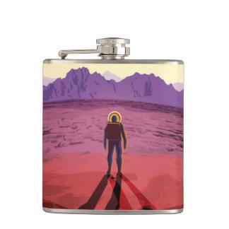 NASA Future Travel Poster - Relax on Kepler 16b Flasks