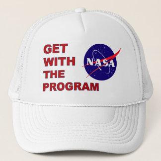 NASA Get With The Program Trucker Hat