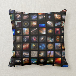 NASA Hubble photos from space Throw Pillow