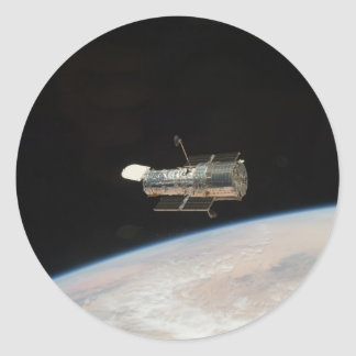 NASA Hubble Space telescope Classic Round Sticker
