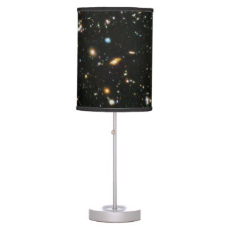 NASA Hubble Ultra Deep Field Galaxies Table Lamp