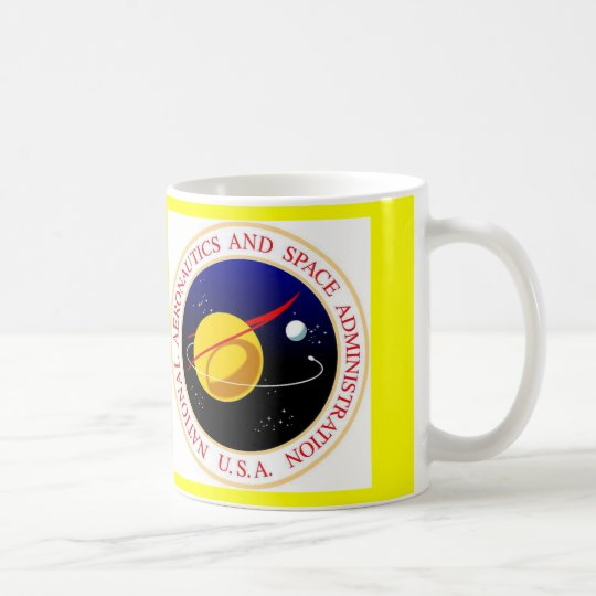 nasa international space station coffee mug