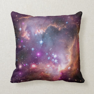 NASA Observatories' Image Magellanic Cloud Galaxy Throw Pillow