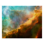 NASA - Omega/Swan Nebula (M17) Poster