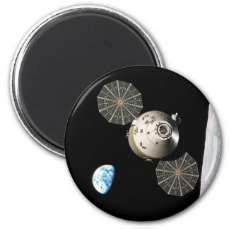 NASA Orion in Lunar Orbit Magnet