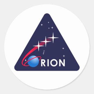 NASA Orion Logo Round Sticker
