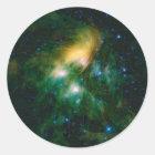 NASA Pleiades Classic Round Sticker