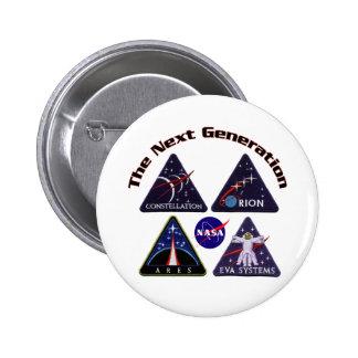 NASA Project Logos 2 Inch Round Button