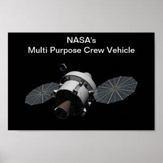 NASA s Multi Purpose Crew Vehicle - MPCV Print
