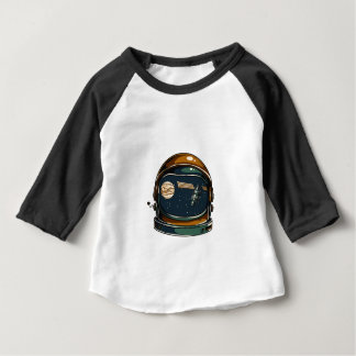 nasa satellite and the moon baby T-Shirt