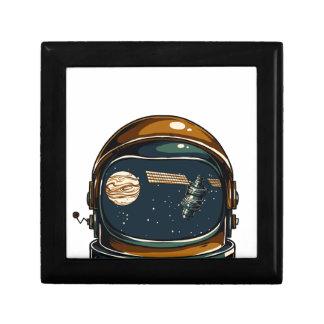 nasa satellite and the moon gift box