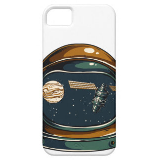 nasa satellite and the moon iPhone 5 cover